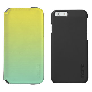 Green & Yellow Ombre Incipio Watson™ iPhone 6 Wallet Case