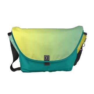 Green & Yellow Ombre Messenger Bag