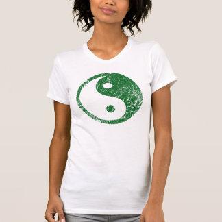 Green Yin Yang - t-shirt