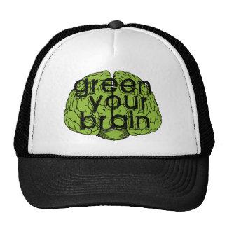 Green your brain cap