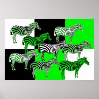 Green Zebras poster