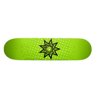 Green Zerodraline Board Skate Board Decks