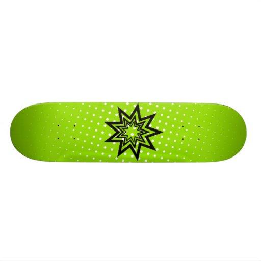 Green Zerodraline Board Skateboards