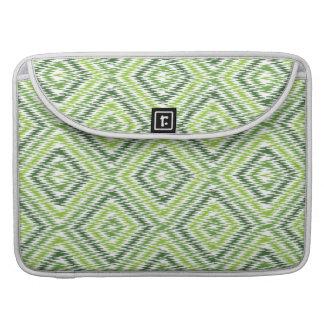 Green Zig Zag Sleeve For MacBook Pro