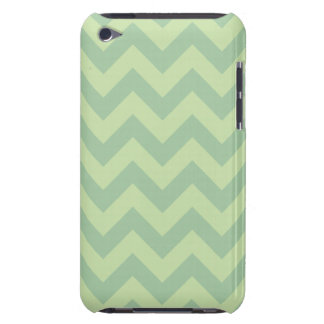 Green ZigZag pattern iPod Touch Cover