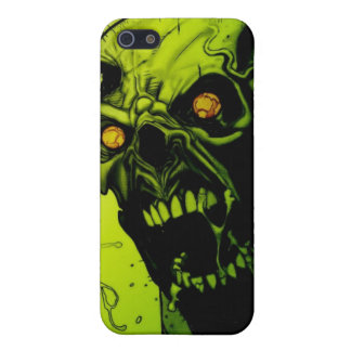 Green Zombie Horror Speck Case Cover For iPhone 5/5S