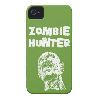 Green Zombie Hunter iPhone 4 & 4s Cover iPhone 4 Case