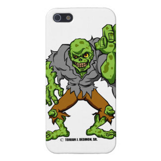 "GREEN ZOMBIE!"" COVER FOR iPhone 5/5S"