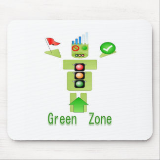 GREEN Zone Energy Efficient Only Mousepad
