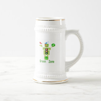 GREEN Zone :  Perfect Steins a class apart Coffee Mugs