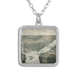 greenbay1867 silver plated necklace