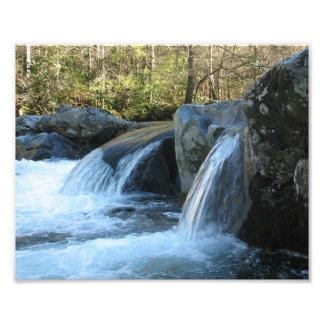 Greenbrier Great Smoky Mtns. cascade Photograph