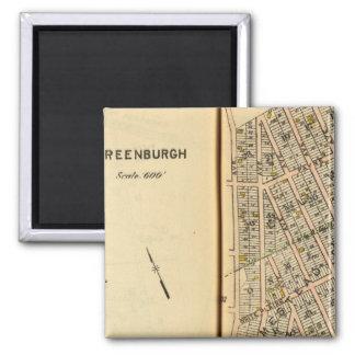 Greenburg, New York 12 Magnets