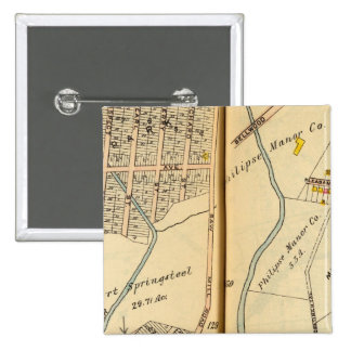 Greenburg, New York 13 15 Cm Square Badge