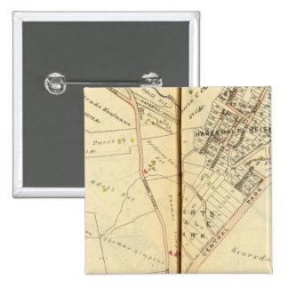 Greenburg, New York 3 15 Cm Square Badge