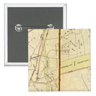 Greenburg, New York 4 15 Cm Square Badge