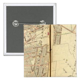 Greenburg, New York 5 15 Cm Square Badge