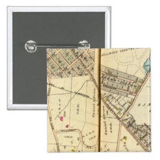 Greenburg, New York 8 15 Cm Square Badge