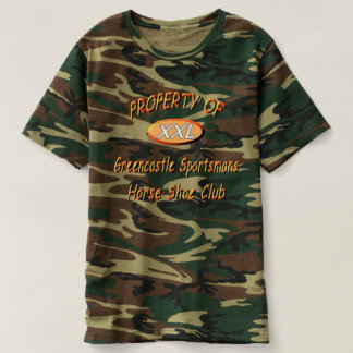 Greencastle SportsMen's HorseShoes Club T T-Shirt