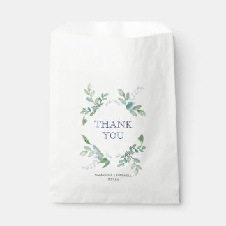 Greenery Favour Bags