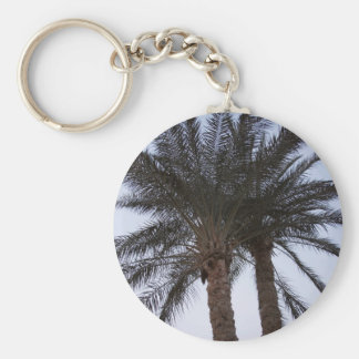 Greenery of palm trees keychain