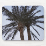 Greenery of palm trees mouse pad
