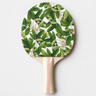 Greenery Ping Pong Paddle