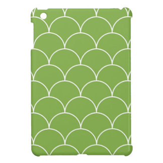 Greenery scales pattern iPad mini covers