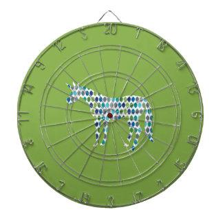 Greenery Unicorn Dartboard