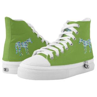 Greenery Unicorn Printed Shoes