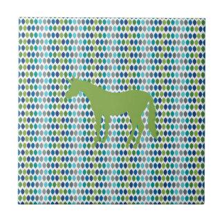 Greenery Unicorn V02 Ceramic Tile
