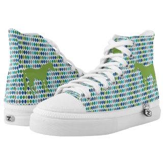 Greenery Unicorn V02 Printed Shoes