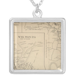 Greenfield, Hillsborough Co Silver Plated Necklace