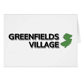 Greenfields Village, New Jersey Card
