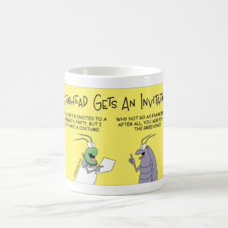 Greenhead fly gets an invitation coffee mug