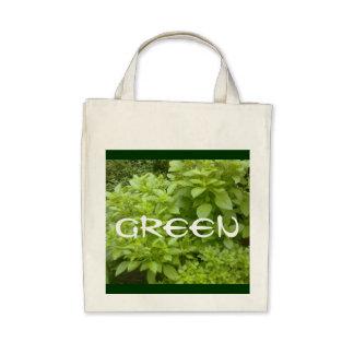 """Greenie"" Organic Reusable Shopping Bag10 Bag"