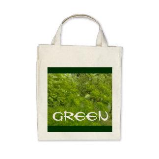 """Greenie"" Organic Reusable Shopping Bag 04"