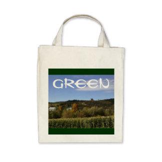 """Greenie"" Organic Reusable Shopping Bag 05"