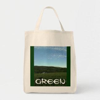"""Greenie"" Organic Reusable Shopping Bag 07"
