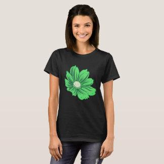 Greenish Blooming Flower T-Shirt