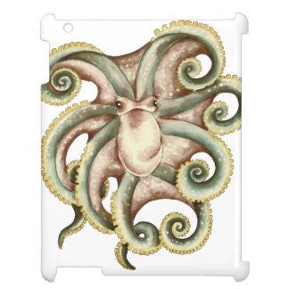 Greenish octopus case for the iPad