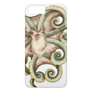 Greenish octopus iPhone 8 plus/7 plus case