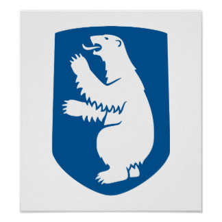 Greenland Coat Of Arms Poster