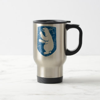Greenland Coat Of Arms Travel Mug