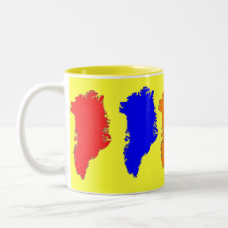 Greenland Color Two-Tone Coffee Mug