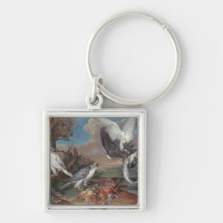 Greenland Cyr Falcons Keychain