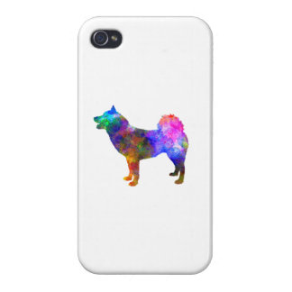 Greenland Dog in watercolor iPhone 4 Case