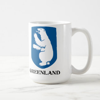 GREENLAND - emblem/symbol/coat of arms/flag Coffee Mug