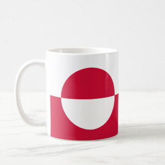 Greenland Flag Coffee Mug