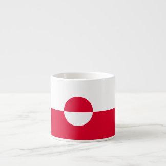 Greenland Flag Espresso Cup